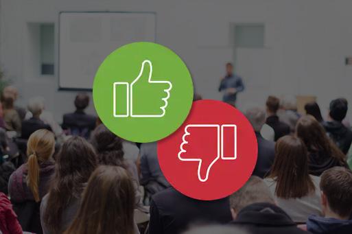 A qualidade dos novos palestrantes